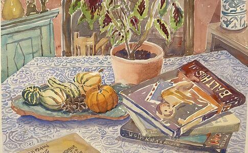 Susan Greenstein, 'Books and Gourds', 2020
