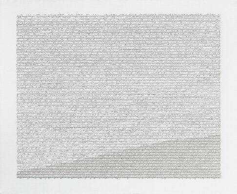 Impronte del pensiero, installation view