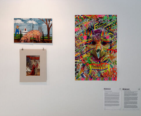 Owen James Gallery at JUSTMAD6, installation view