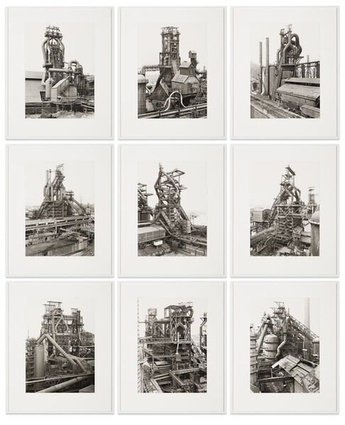 Bernd and Hilla Becher, 'Blast Furnaces', 1970-1994