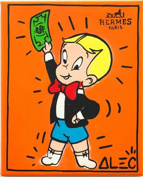 Alec Monopoly, 'Hermes Richie Holding bill ', 2020
