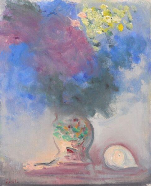 Paul Resika, 'Hydrangea and Shell', 2015