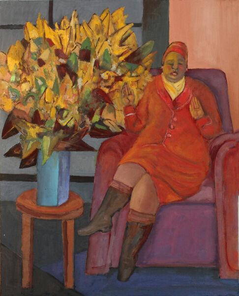 Stephen Basso, 'flowers from evergood', 2015