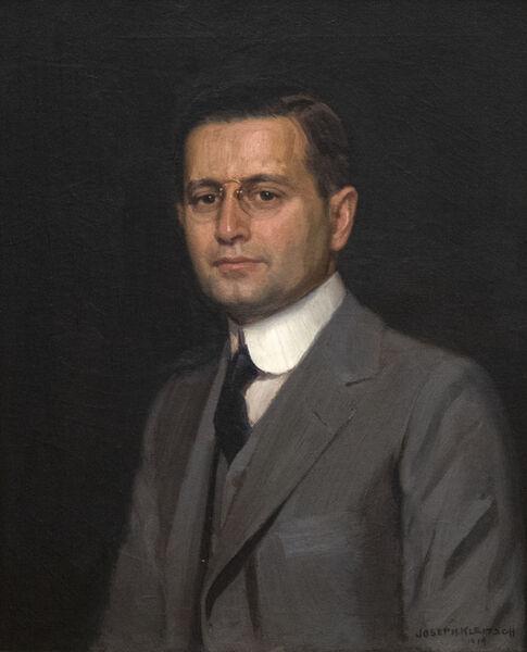 Joseph Kleitsch, 'Portrait of Charles F. W. Nichols', 1919