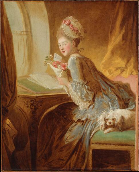 Jean-Honoré Fragonard, 'The Love Letter', early 1770s