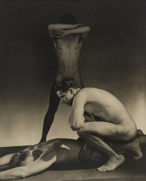 George Platt Lynes, 'Three Male Nudes', ca. 1941