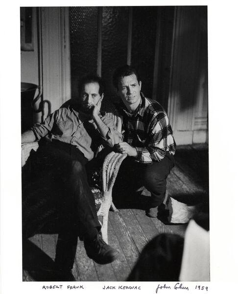 John Cohen, 'Robert Frank, Jack Kerouac', 1959