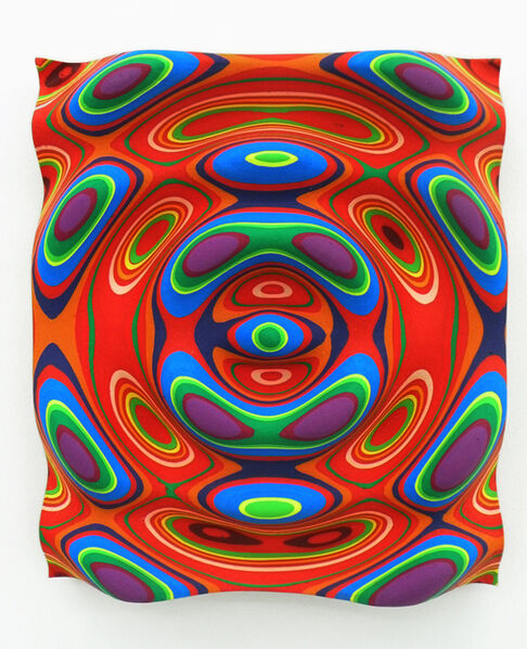 Linda Besemer, 'Red Slab', 2009