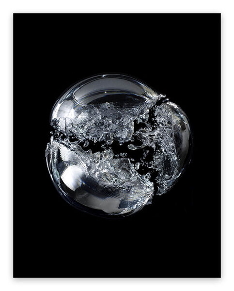 Seb Janiak, 'Gravity Bulle d'air 05 (Large) (Abstract photography)', 2013