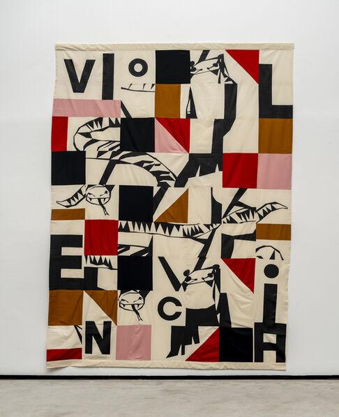 Rivane Neuenschwander, 'Assombrados (Violencia/Meu irmão)', 2019