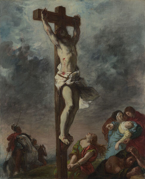 Eugène Delacroix, 'Christ on the Cross', 1853