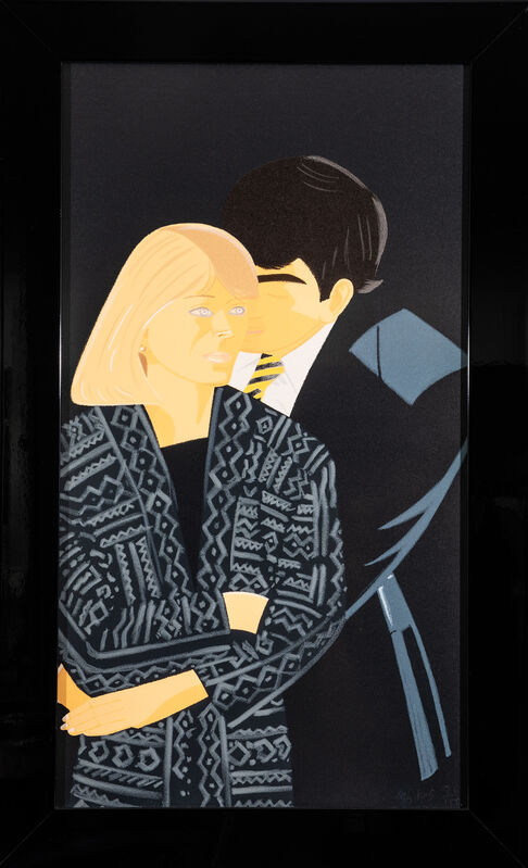 Alex Katz, 'Vicky Hudspith & Wally Tuberville', 1993-94, Print, Color screenprints on Arches Cover paper, Evelyn Aimis Fine Art