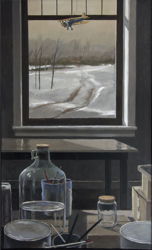 Norman Lundin, 'WINTER STUDIO', 2006-2015, Painting, Oil on canvas, Greg Kucera Gallery