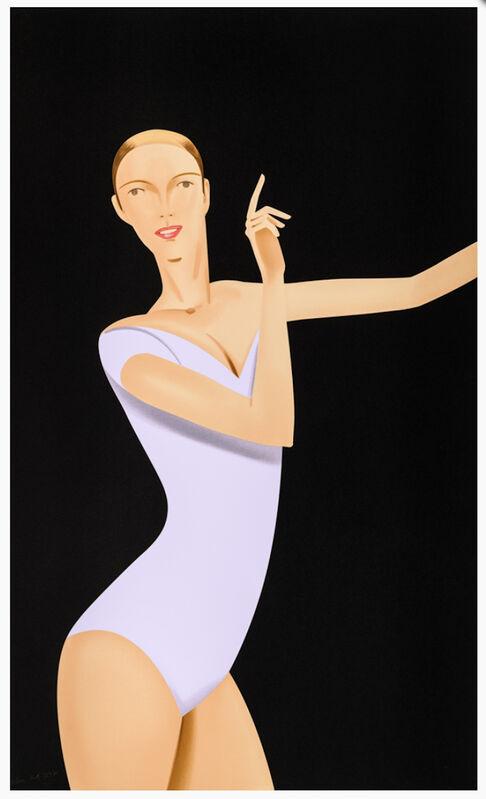Alex Katz, 'Dancer 1', 2019, Print, Silkscreen, Gregg Shienbaum Fine Art