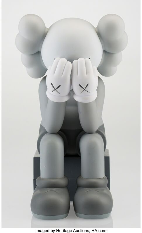 KAWS, 'Companion-Passing Through (Grey)', 2013, Other, Painted cast vinyl, Heritage Auctions