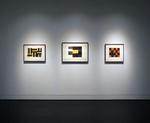 Jacob Kainen, Thomas Nozkowski, Sean Scully, installation view