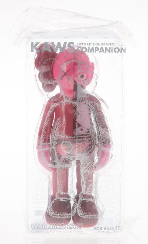 KAWS, 'Companion (Blush)', 2016, Sculpture, Painted cast vinyl, Heritage Auctions