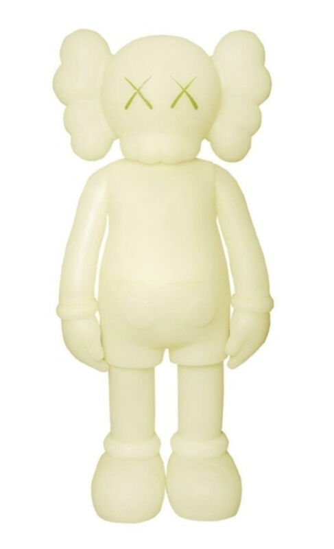 KAWS, 'Companion (5 Years Later) Glow-in-the-Dark Green', 2004, Sculpture, Painted cast vinyl, Gallery 1890