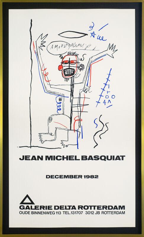 Jean-Michel Basquiat, ' Untitled (Galerie Delta)', 1982, Ephemera or Merchandise, Silkscreen, paper, Artificial Gallery