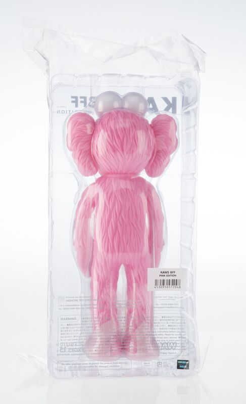 KAWS, 'BFF Companion (Pink)', 2017, Sculpture, Painted cast vinyl, Heritage Auctions