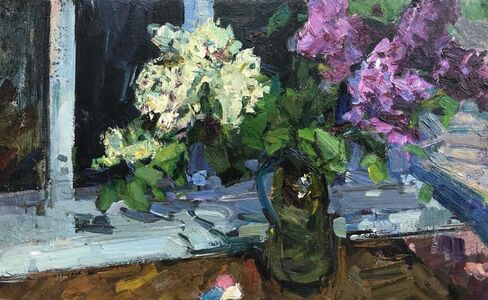 Fedor Zakharov, 'Still Life with Lilacs', 1972