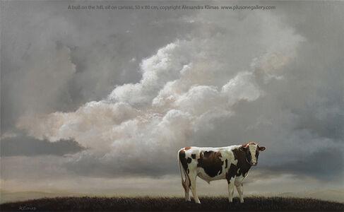 Alexandra Klimas, 'A Bull on the Hill', 2020