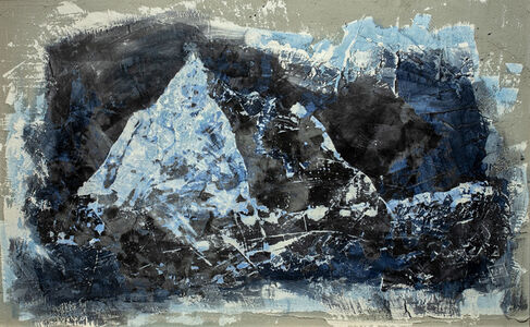 Andrea Capanna, 'Look out 4 (mountain)', 2021