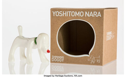After Yoshitomo Nara, 'Shinning Doggy (White)', 2015