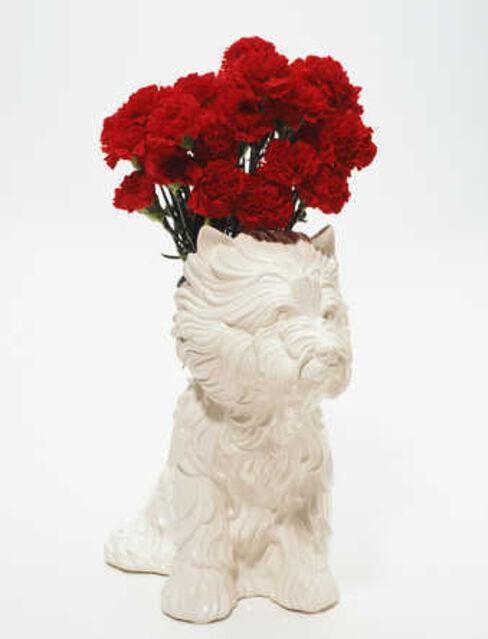 Jeff Koons Puppy Vase 1998 Artsy