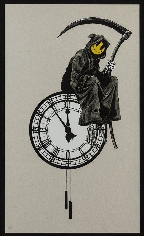 Banksy, 'Grin Reaper', 2005, Print, Screenprint in colours, Forum Auctions