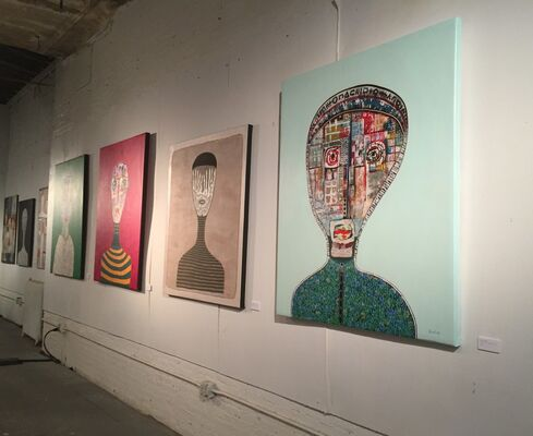 Hector Frank | Solo Exhibition, Hotel Chelsea, installation view
