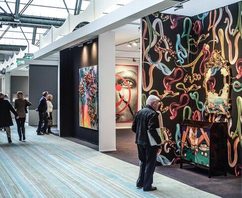 MARUANI MERCIER GALLERY at BRAFA 2018, installation view
