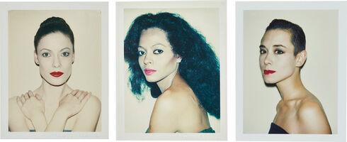 Andy Warhol, 'Karen Kaine, Diana Ross, Tina Chow', 1980-1985