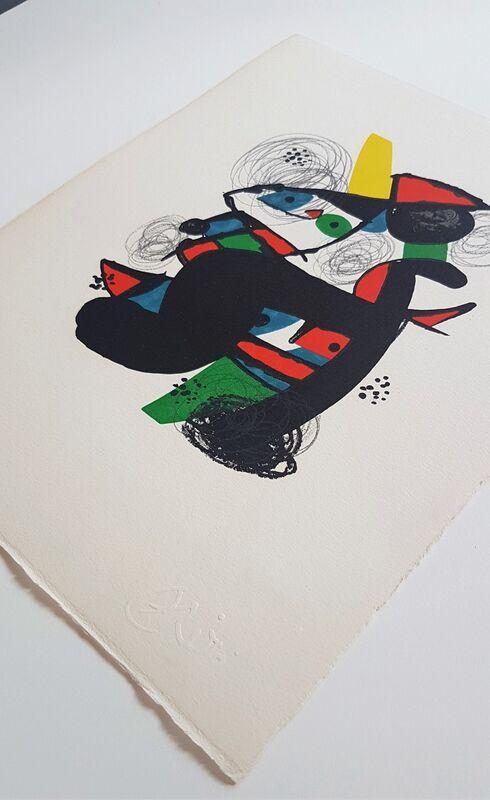 Joan Miró, 'La Mélodie Acide - 11', 1980, Print, Color lithograph, Cerbera Gallery
