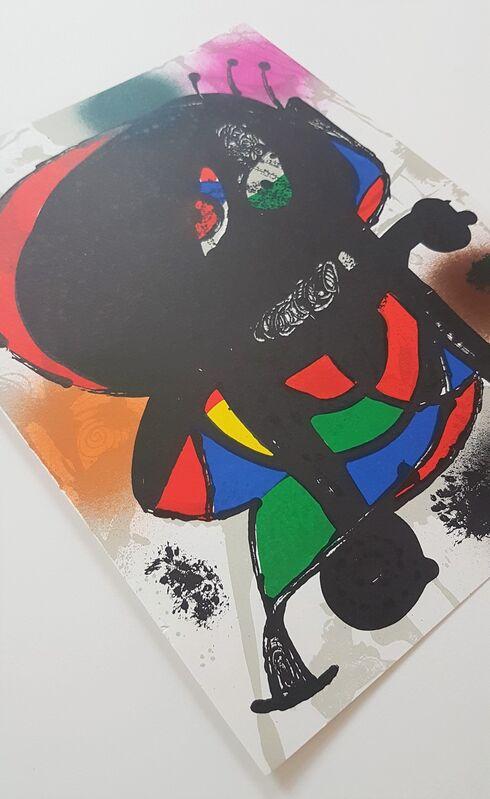 Joan Miró, 'Lithographie Originale III', 1977, Print, Color Lithograph, Cerbera Gallery