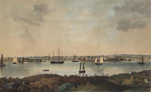 Fitz Henry Lane, 'View of Gloucester, Mass.', ca. 1855