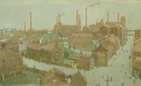 Michael Upton, 'Northern Town', 1990