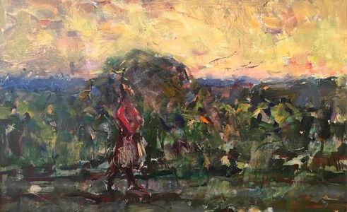 Ben Fenske, 'Bea, Sunset Road Sketch', 2016