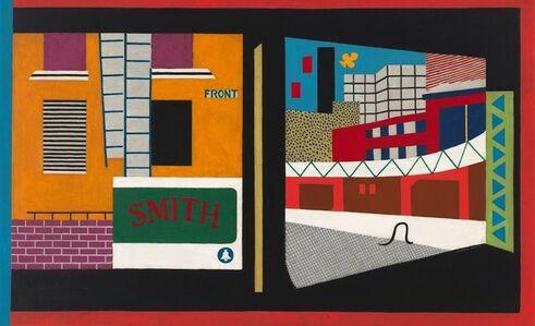 Stuart Davis, 'House and Street', 1931