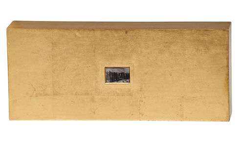 Stephen Laub, 'Untitled (gold rectangle)', 1987