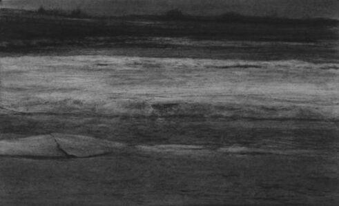 Renie Spoelstra, 'Northern Route #2 (Half Frozen River)', 2020
