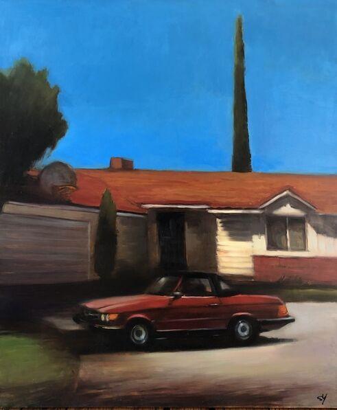 Scott Yeskel, 'His Old Mercedes', 2018