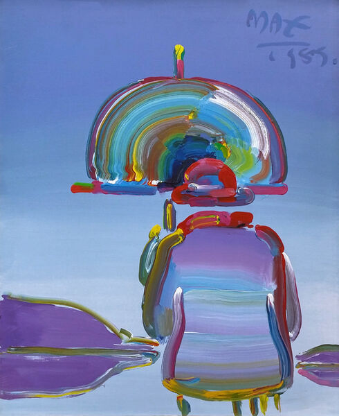 Peter Max, 'UMBRELLA MAN', 1989