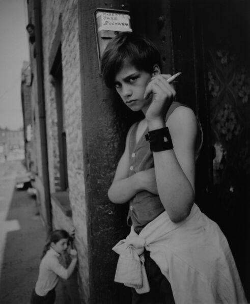 Arthur Tress, 'Boy with cigarette', 1970