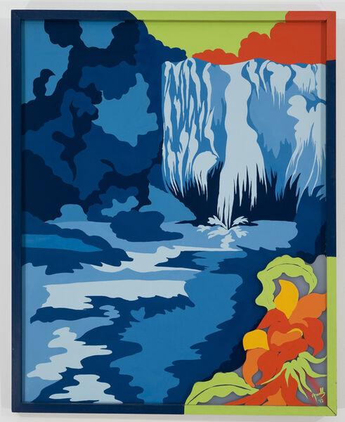 Evelyne Axell, 'La chute d´eau', 1972