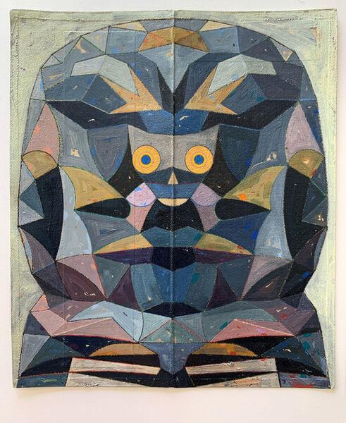 Raymond Lemstra, 'Untitled (Head) 5', 2019