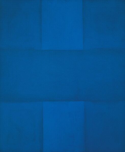 Ad Reinhardt, 'Abstract Painting, Blue', 1952