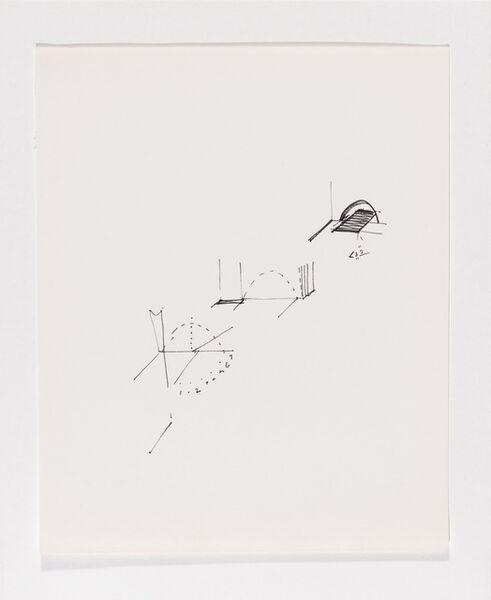 Gordon Matta-Clark, 'Untitled (schematic drawings, notebook, 24 sheets)', 1974