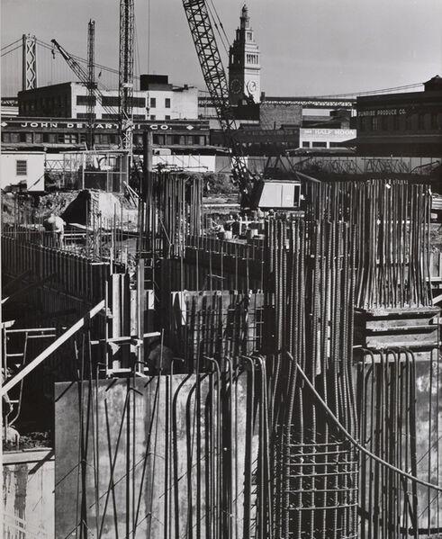 Pirkle Jones, 'Untitled (Construction site)', nd