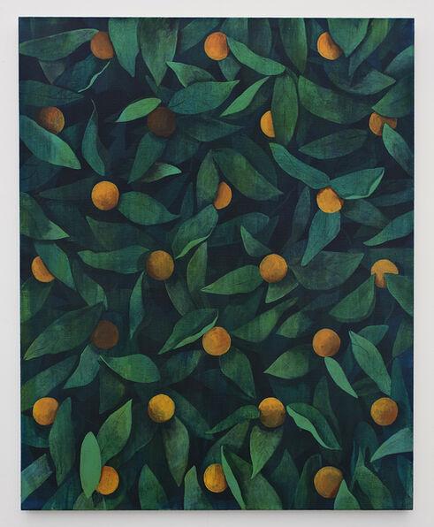 Ryan Mrozowski, 'Untitled (orange painting)', 2015